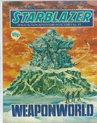 Weaponworld,starblazer Space Fiction Adventure In Pictures,comic,no.83