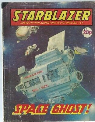 Space Ghost,starblazer Space Fiction Adventure In Pictures,comic,no.111