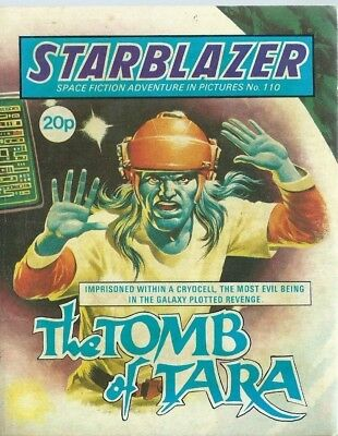 The Tomb Of Tara,starblazer Space Fiction Adventure In Pictures,comic,no.110