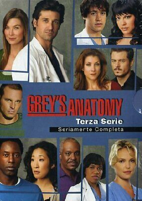 greys anatomy stagione 03 aa vv 8717418132248