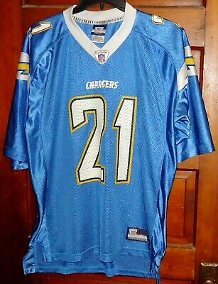 huge selection of 44fec b0302 SAN DIEGO CHARGERS LADAINIAN TOMLINSON No. 21 JERSEY - Size Large - Reebok  NFL
