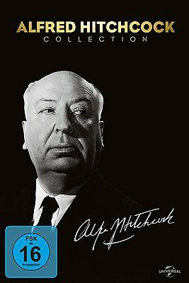 Alfred Hitchcock Classics Collection Cocktail Psycho Window Frenzy 14 DVD Box