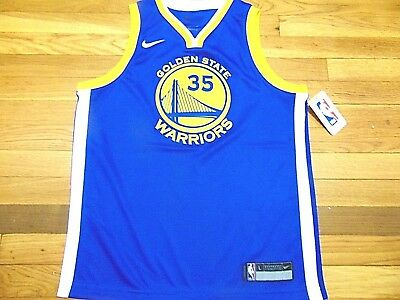 d22b98ab40e Nike Nba Golden State Warriors Kevin Durant Swingman Jersey Size Youth L