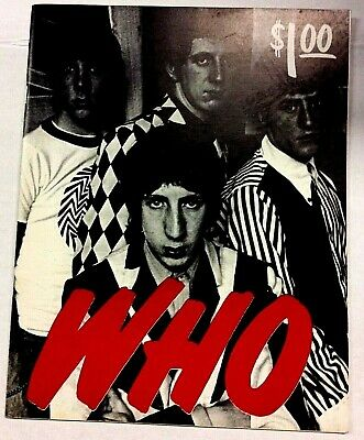THE WHO: Fanzine - Canada's Pig Productions