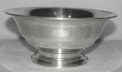 """Antique TOWLE STERLING SILVER 68 Footed Flared 6.5"""" BOWL 229g"""