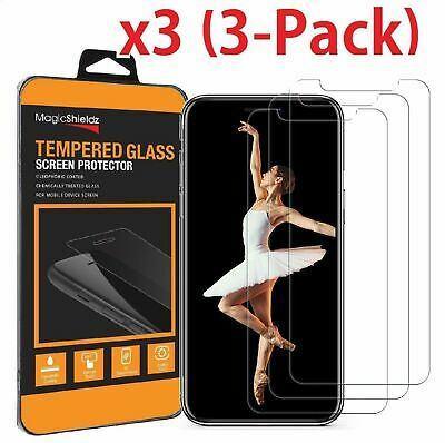 3 Packs Premium Screen Protector Tempered Glass Film For iPhone  X XR Xs Max
