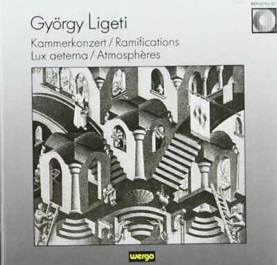 Ligeti: Choral and Orchestral Works -  CD AJVG The Cheap Fast Free Post The