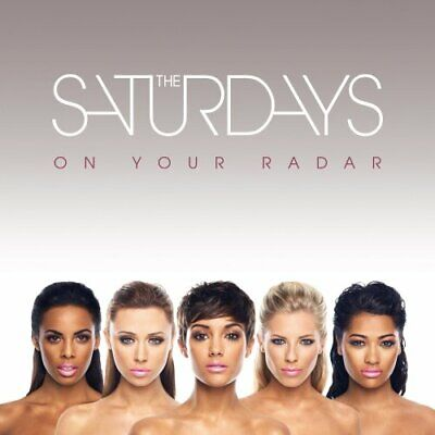 The Saturdays - On Your Radar - The Saturdays CD AMVG The Cheap Fast Free Post