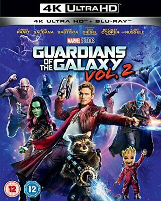 Guardians of the Galaxy Vol.2 UHD [Blu-ray] [2017] - DVD  R5VG The Cheap Fast