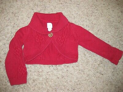 29e1ed7bc51 BABY GAP TODDLER Girl Leopard Print Cardigan Size 12-18 Months ...