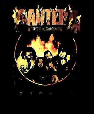 PANTERA cd lgo REINVENTING THE STEEL PHOTO Official SHIRT XL New superjoint down