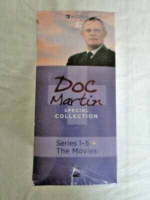 Doc Martin Special Collection: Series 1-6 +The Movies (DVD, 13-Disc Box Set) New