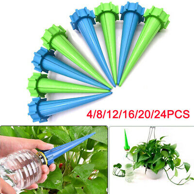 4-24 pc automatique d'arrosage Spike Irrigation plante jardin goutte l'eau FR