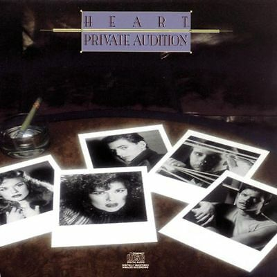 *NEW* CD Album Heart - Private Audition (Mini LP Style Card Case)