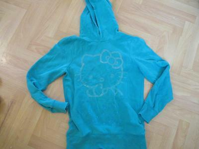 Hello Kitty H & M sparkly gems hoodie top childs size