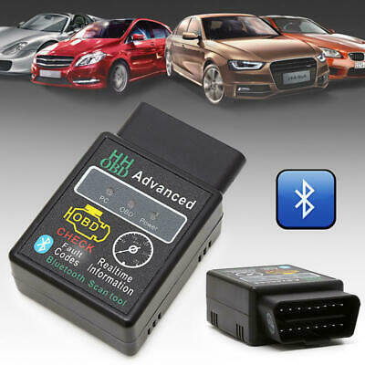 OBD2 ELM327 Car Scanner V2.1 Bluetooth Android Torque Auto Diagnostic Scan Tool