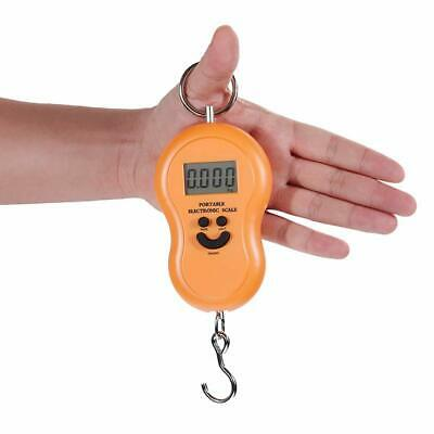 Portable LCD Backlight Digital Luggage Scales Weight Suitcase Travel Scale Hook