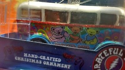 Grateful Dead Dancing Bears Bus 3.5 inch Christmas Ornament