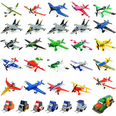 Disney Pixar Planes 1&2 Diecast Metal Toy Model Plane 1:55 Loose Kids Boys Gift