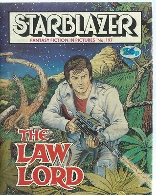 The Law Lord,starblazer Fantasy Fiction Adventure In Pictures,comic,no.197