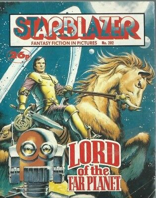 Lord Of The Far Planet,starblazer Fantasy Fiction Adventure In Pictures,no.202