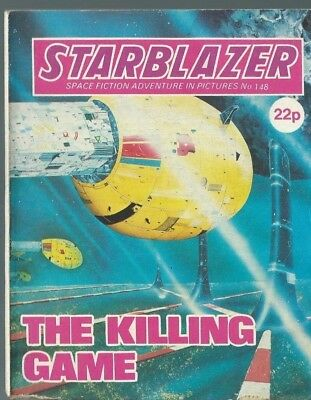 The Killing Game,starblazer Space Fiction Adventure In Picture,comic,no.148