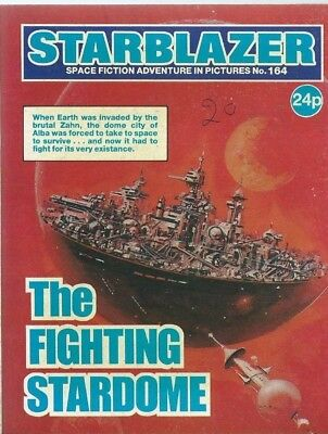The Fighting Stardome,starblazer Space Fiction Adventure In Pictures,no.164