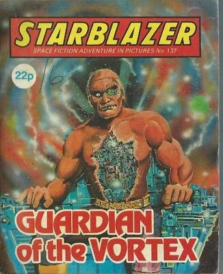 Guardian Of The Vortex,starblazer Space Fiction Adventure In Pictures,no.137