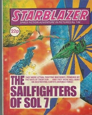 The Sailfighters Of Sol 7,starblazer Space Fiction Adventure In Pictures,no.144
