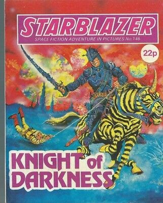 Night Of Darkness,starblazer Space Fiction Adventure In Picture,comic,no.146