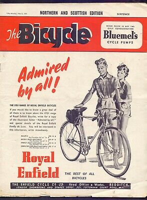 Vintage Bicycle Magazine 2nd May 1951 Northern and Scottish Edition  (BB 2)