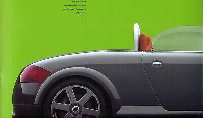 "AUDI ""TT"" Coupé & Roadster concepts - 1996 - Bilingual sales brochure, prospekte"