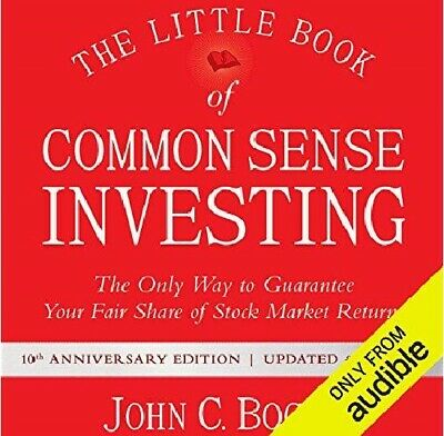 The Little Book of Common Sense Investing By John C. Bogle (audiobook,e-Delivery
