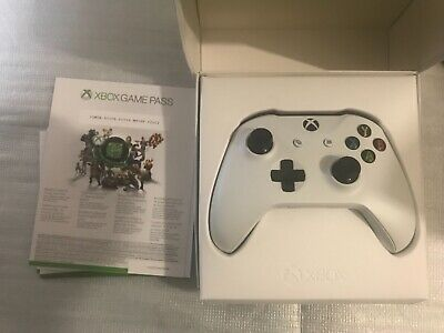 Official Xbox One Microsoft Wireless White Controller 1708