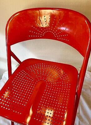 Miraculous Ikea Frode Folding Chair Red 10 00 Picclick Uk Lamtechconsult Wood Chair Design Ideas Lamtechconsultcom
