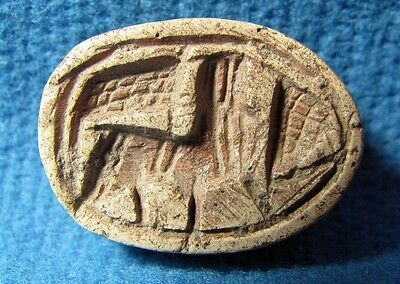 Scarab LION seal Hixos JUDAEA Middle bronze Canaanite 2000-1550BC Archaeology.