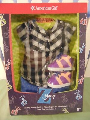 NIB AMERICAN GIRL Z's EASY BREEZY OUTFIT NEW RETIRED