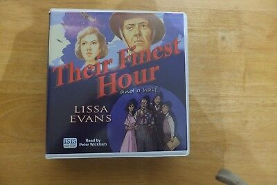 Their Finest Hour and a Half by Lissa Evans (CD-Audio, 2009)