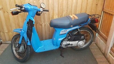 Honda city express  49cc moped  sh 50 e 1987 classic bike  BARGAIN £299