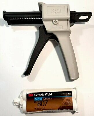 3M Scotch Weld Applicator Gun Dma 50 Plus Dp807 Acrylic Adhesive Sealed Vgc