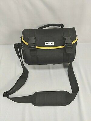 Nikon OEM Deluxe DSLR Bag Black for D3300 500 5600 90 200