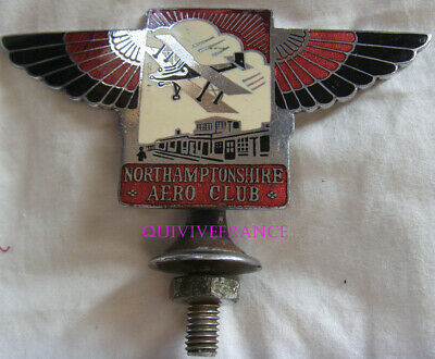 Northamptonshire Aero Club Member's Enamel Badge