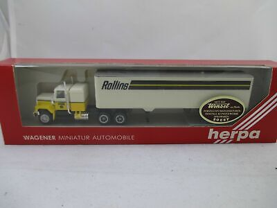 Gmc Lorry Herpa 851000 Rollins Original Package H0 1:87 Model