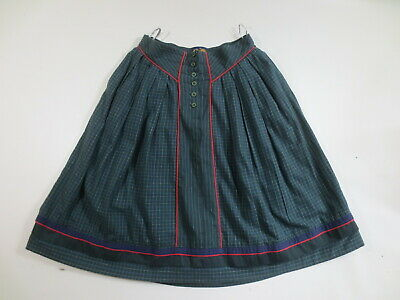 Sigikid Skirt M Ca 40 Costume Skirt Cotton Green Petrol Red / Rs
