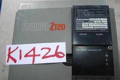 Mitsubishi Freqrol-Z120 With Fr-Puoi Parameter Unit  Stock#K1426