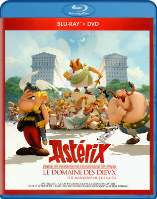 Asterix - Le Domaine Des Dieux (Blu-Ray / Dvd) (Blu-Ray) (Bilingual) (Blu-Ray)
