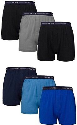 Nautica Men's Cotton Modal Boxer 3-Pack