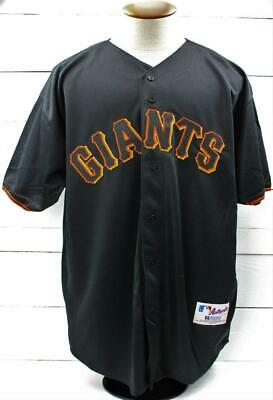 83f85420 Vintage NWT 2001 Russell San Francisco Giants Barry Bonds 73HR Jersey Size  52