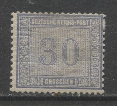 1872 Germany  30 Groschen early issue  mint*,  $ 175.00