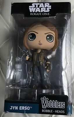 FUNKO WACKY WOBBLER: Star Wars - Rogue One - Jyn Erso [New Toy] Vinyl Figure